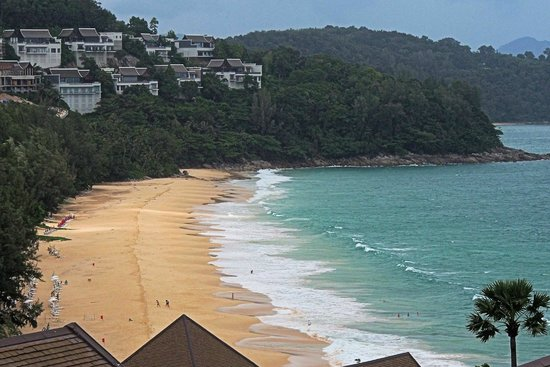 Pullman Phuket Arcadia Naithon Beach : Nai Thon Beach from the Pullman