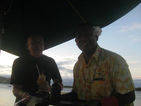 Plantation Island Resort: Friendly staff