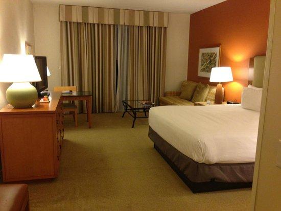 Hyatt Regency Indian Wells Resort & Spa: Club King Room