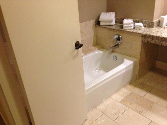 Hyatt Regency Indian Wells Resort & Spa: big seperate bathtub