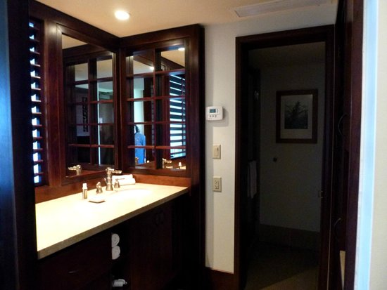 Royal Lahaina Resort : bathroom area