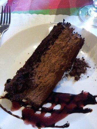 Cafe de Paris: Chocolate dessert
