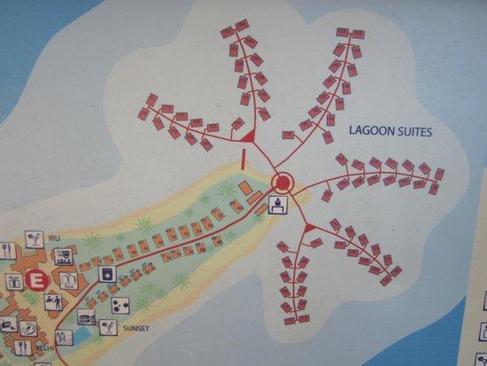 Club Med Kani : Lagoon Suite room numbers