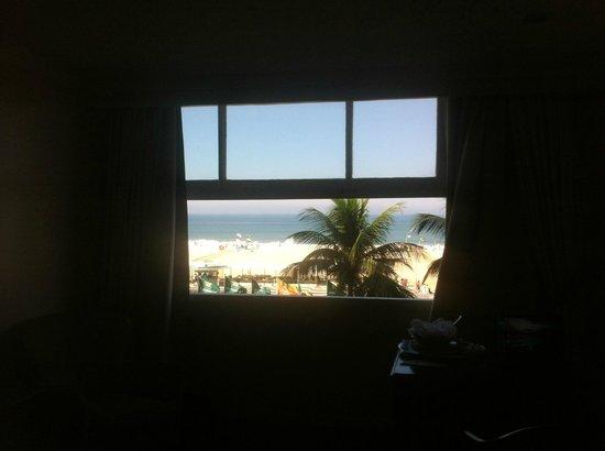 Olinda Rio Hotel: Vista de la Habitación a la Playa