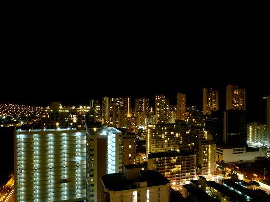 Aqua Skyline at Island Colony: View at night