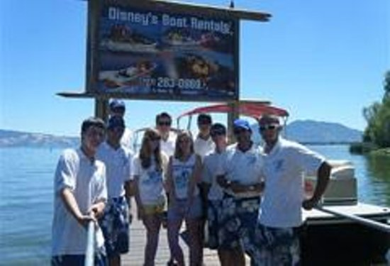 Lakeport, Καλιφόρνια: Disneys staff