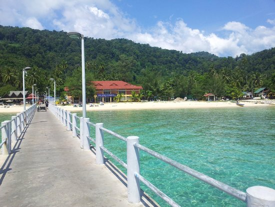 Salang Indah Resort: View from jetty
