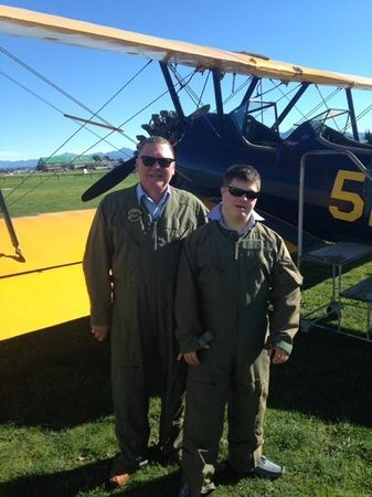 "Omaka Aviation Heritage Centre : Father and Son ""Biggles"""