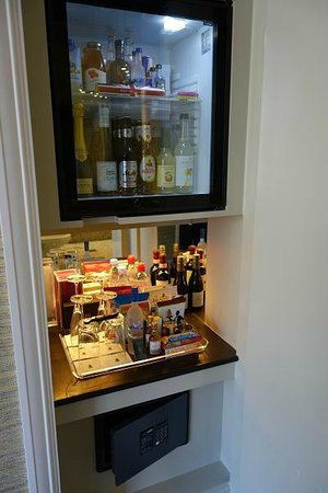 The Soho Hotel: great mini bar