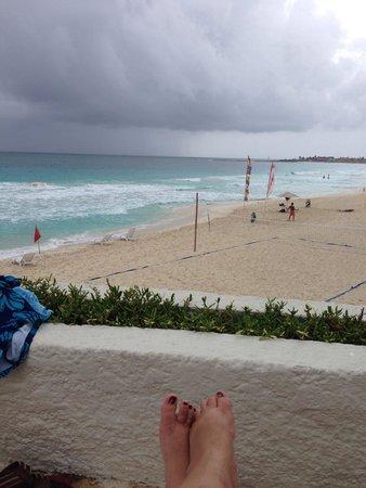 Oleo Cancun Playa: View from pool area #wherethebuffaloroam
