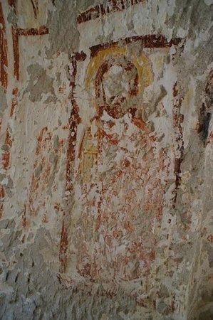 Cappadocia Hitchhiker: Degraded cave art