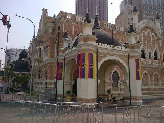 Merdeka Square : colonial arcitecture