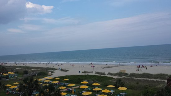 Meridian Plaza : Beautiful view from our ocean front balcony