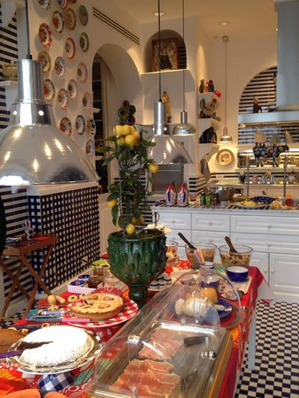 Maison La Minervetta: Breakfast