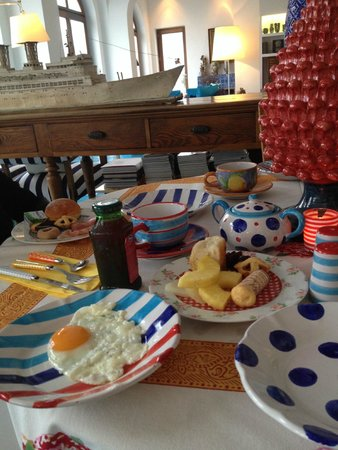 Maison La Minervetta : Breakfast