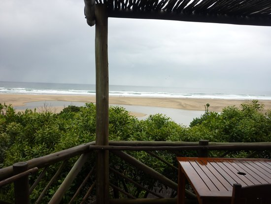 Umngazi River Bungalows & Spa: View from our room