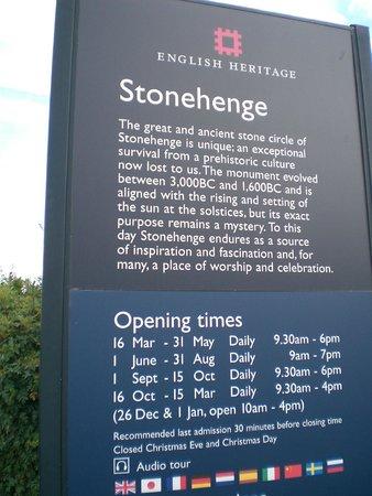 Stonehenge: Opening Time