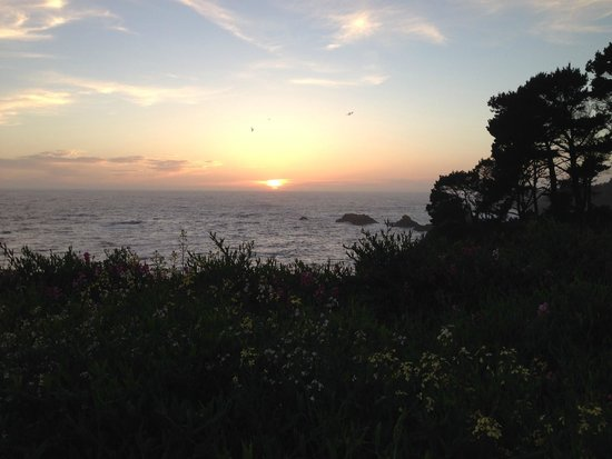 Sea Rock Inn: Sunset at Sea Rock