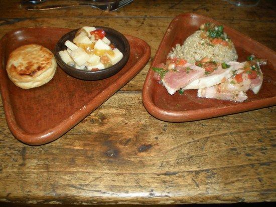 Tesoros de Chile: Un delicioso jamon con quinua graneada
