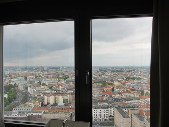 Park Inn by Radisson Berlin Alexanderplatz: My view