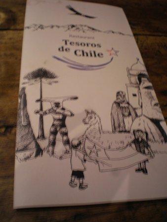 Tesoros de Chile: La Carta