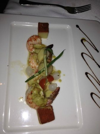 Grand Velas Riviera Nayarit: Shrimp and Scallops