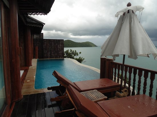 Santhiya Koh Yao Yai Resort & Spa: View from 1104 Villa
