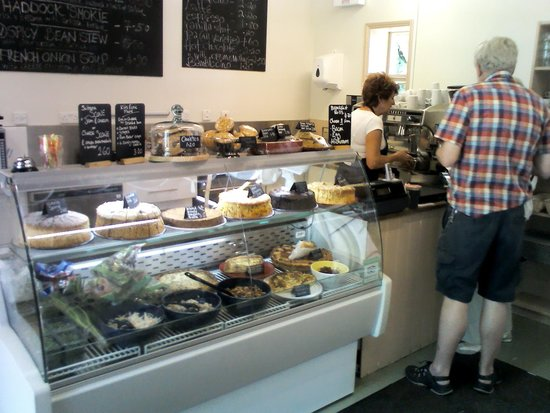 The Harvest Mouse Cafe Limited: morning coffee