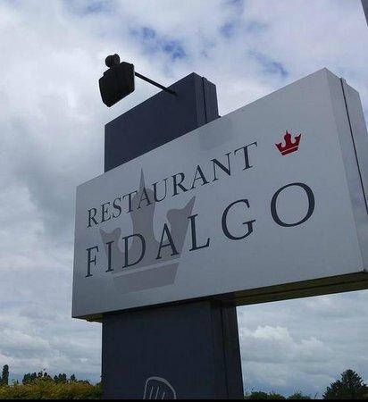 Fidalgo : Logo bij de ingang