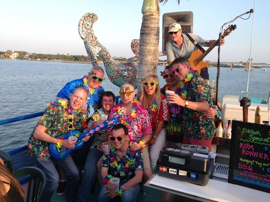 LeBarge Tropical Cruises: Topside party fun