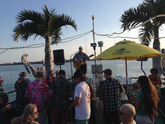 LeBarge Tropical Cruises: Upper Deck entertainment