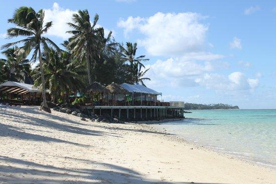The Rarotongan Beach Resort & Spa : View of Dining area - Restaurant