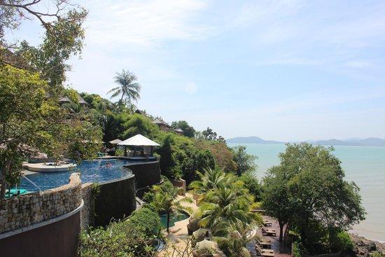 The Westin Siray Bay Resort & Spa Phuket : Horizon pool view from restaurant