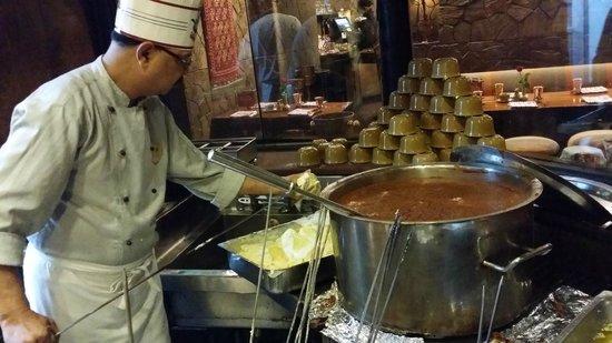 Bukhara: kitchen