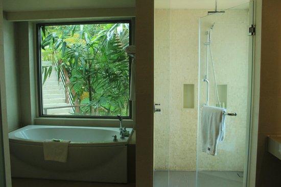 The Westin Siray Bay Resort & Spa Phuket : See through bath room