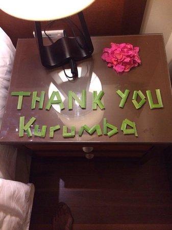 Kurumba Maldives : Our message to Kurumba... ��