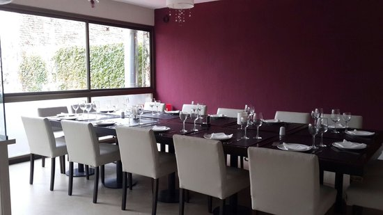La Tiberina Restaurant : Salon vip