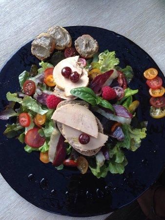 L'instant t porto-vecchio : Délicieuse salade !