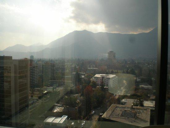 Santiago Marriott Hotel: Vista desde piso 17