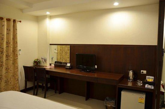 Kong Garden View Resort Chiang Rai: ห้องกว้างและสะอาด