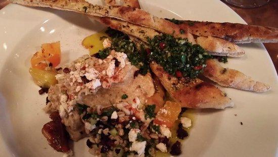 Ember : Fantastic hummus--garlic alert!