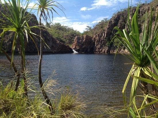 Edith Falls Campground: Scenic spot at the falls