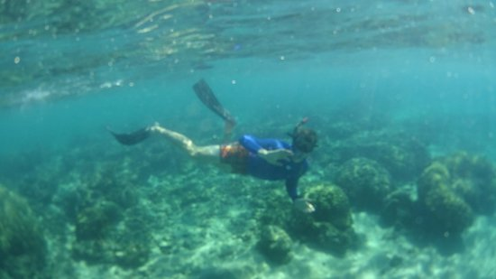 Pestana Bazaruto Lodge : Snorkelling - Lovely temperature in May
