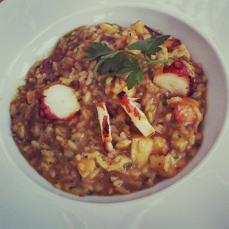 VINUM Restaurant & Wine Bar: Delicious octopus rice