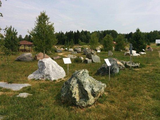 Жуковский район, Россия: Парк камней