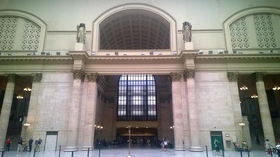 Union Station Chicago - Interior Detail