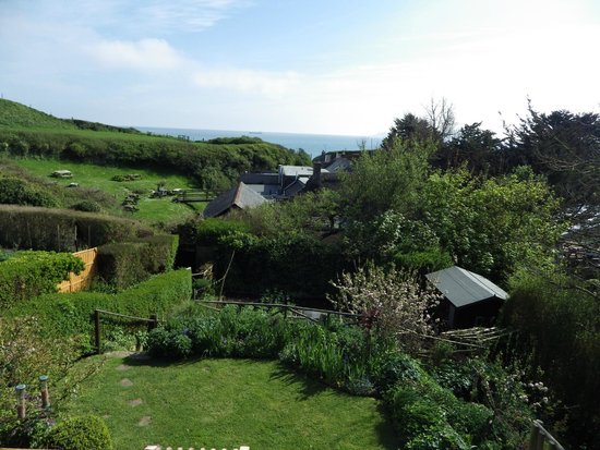 Old Coastguard Cottages: Beautiful view from the b&b room