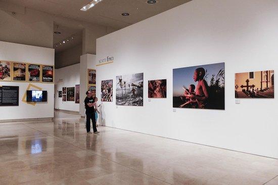 Palazzo delle Esposizioni : seconda sala dedicata a National geographic