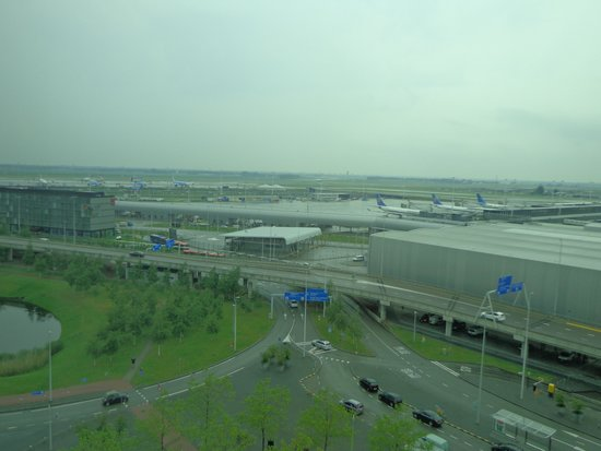 Sheraton Amsterdam Airport Hotel and Conference Center: View from Room