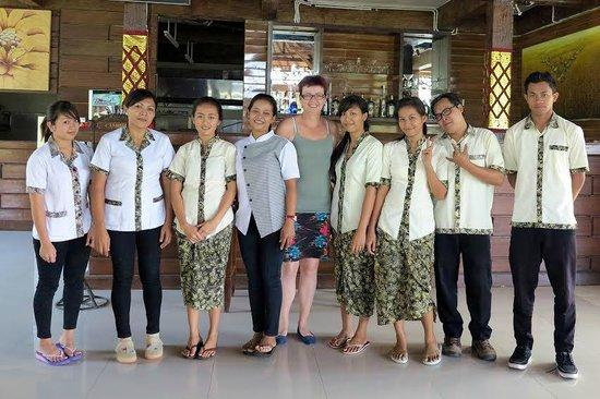 Bhanuswari Resort & Spa: geweldig vriendelijk personeel van restaurant